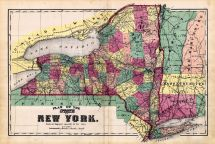 New York State - Plan, Schuyler County 1874